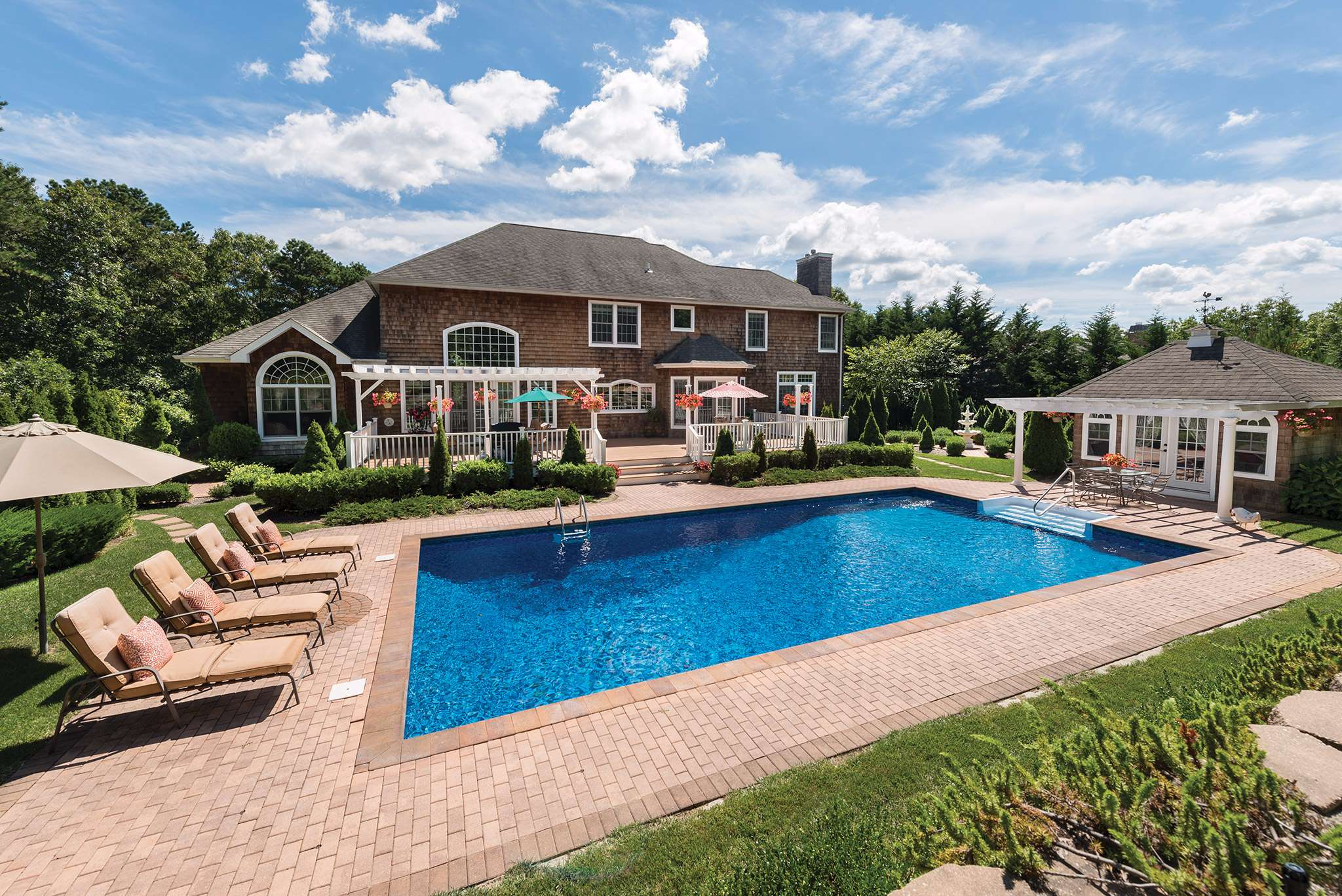 Single Family Home for Sale at Light, Bright, Spacious Traditional 148 Malloy Drive, East Quogue, New York