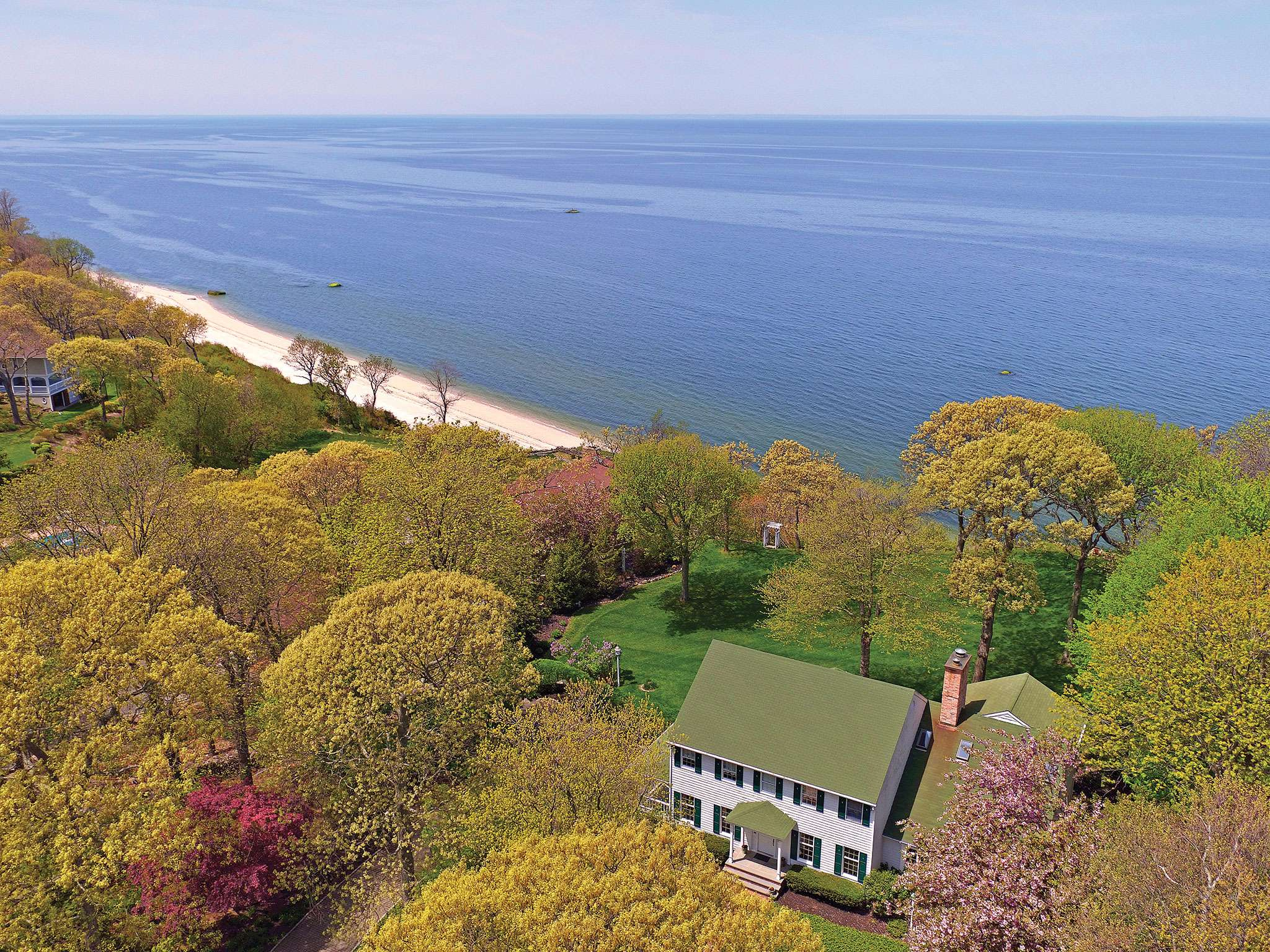 Single Family Home for Sale at Majestic Property Overlooking Long Island Sound 35 Soundview Drive, Shoreham, New York